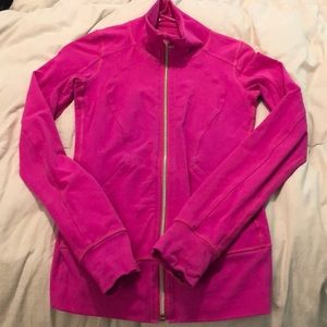 Lululemon hot pink size 4 jacket